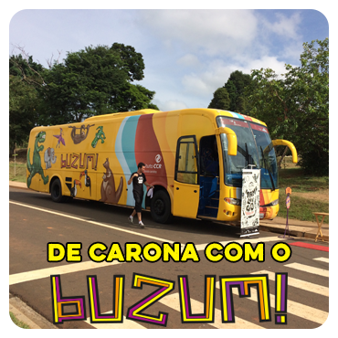 DE CARONA COM O BUZUM!